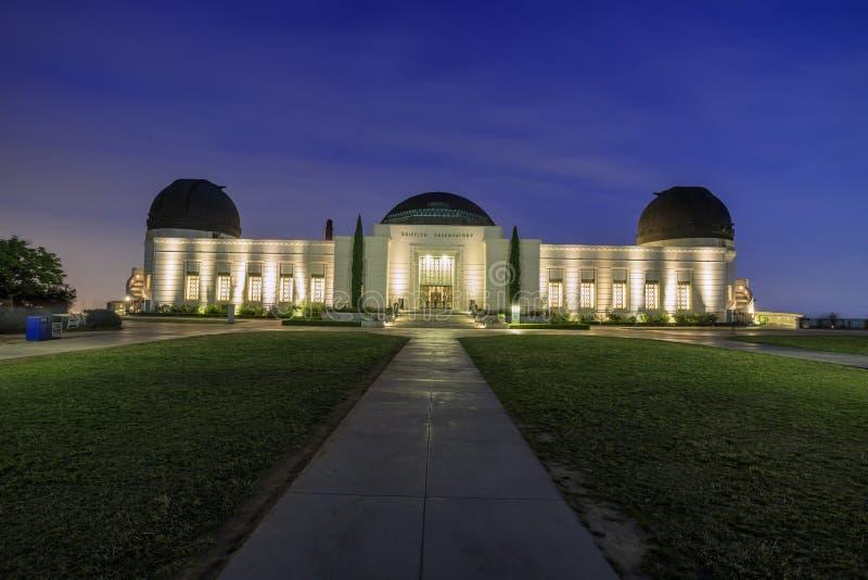 Gryfa Los Angeles i obserwatorium śródmieście zdjęcie royalty free