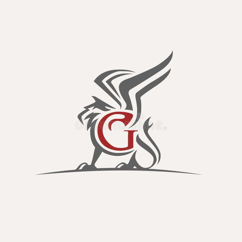 Gryfa wektoru logo zdjęcia royalty free