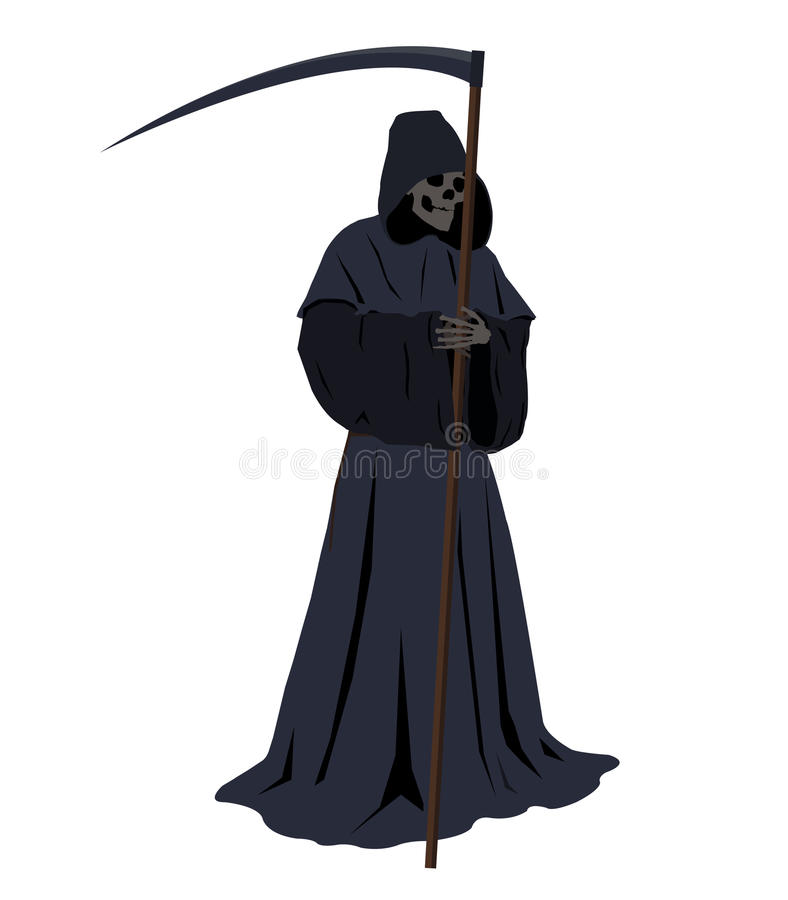 grym reaper stock illustrationer