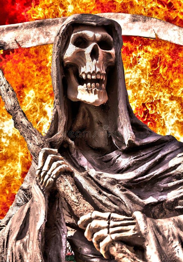 grym reaper royaltyfri bild