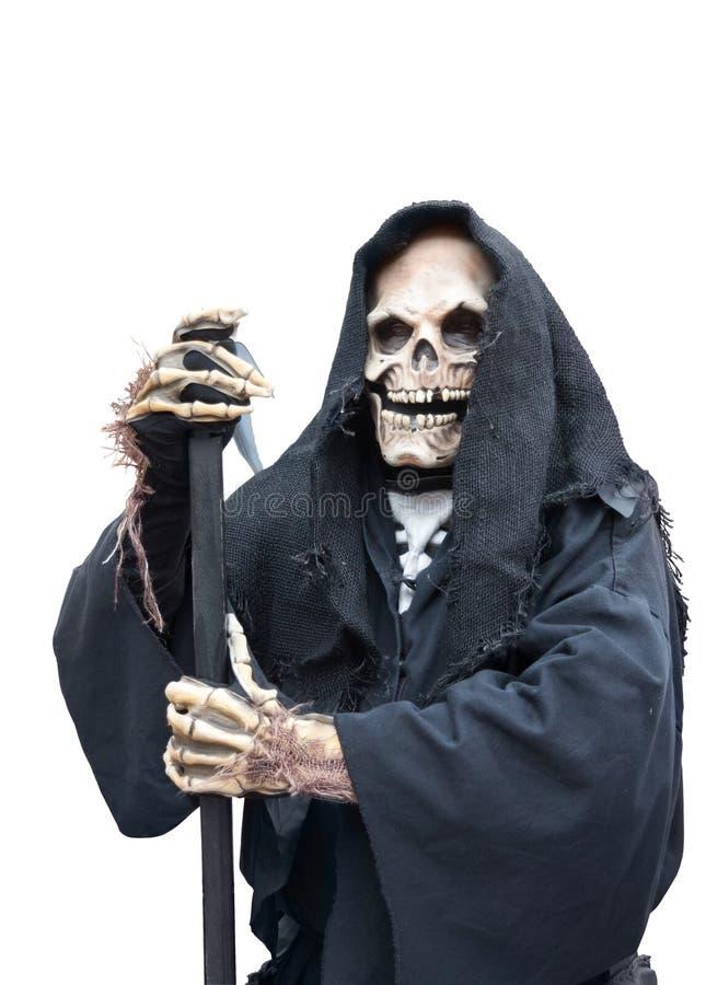Grym reaper royaltyfri foto