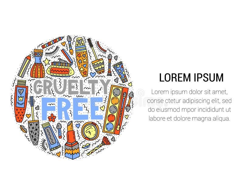 Grymhet frigör Märka med klotter vektor illustrationer