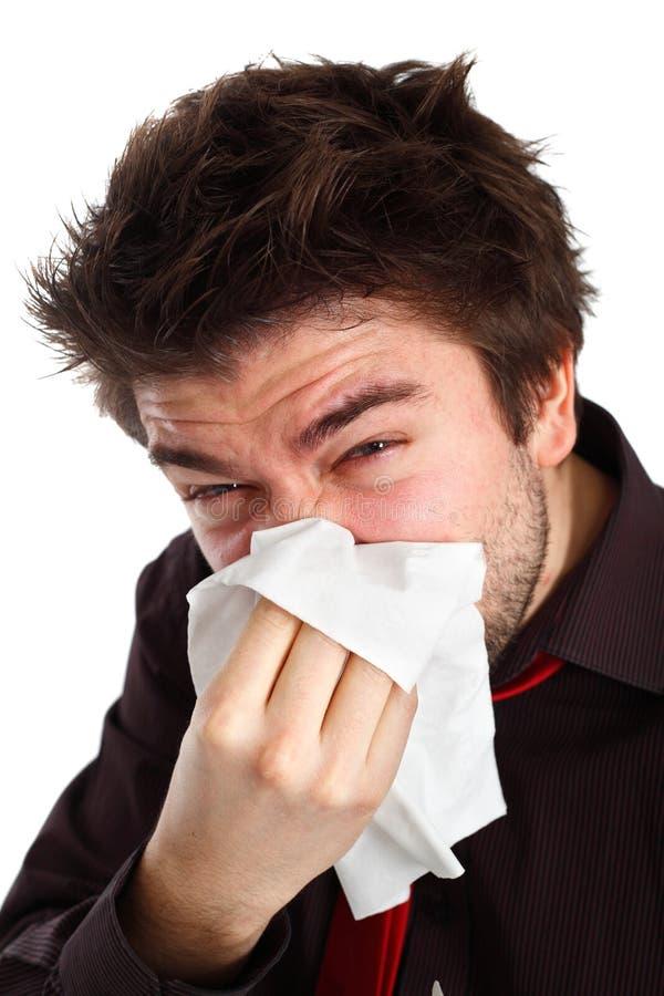 grypa dostawać obrazy stock