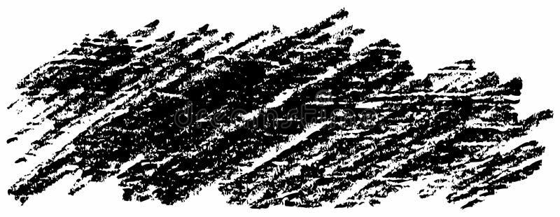 Gryzmolący z ołówkiem, wektoru muśnięcia uderzenie Ręka kreślący projektów elementy, różnorodni kształty robić istnym grafitowym  ilustracja wektor