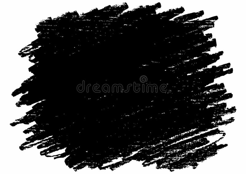 Gryzmolący z ołówkiem, wektoru muśnięcia uderzenie Ręka kreślący projektów elementy, różnorodni kształty robić istnym grafitowym  royalty ilustracja
