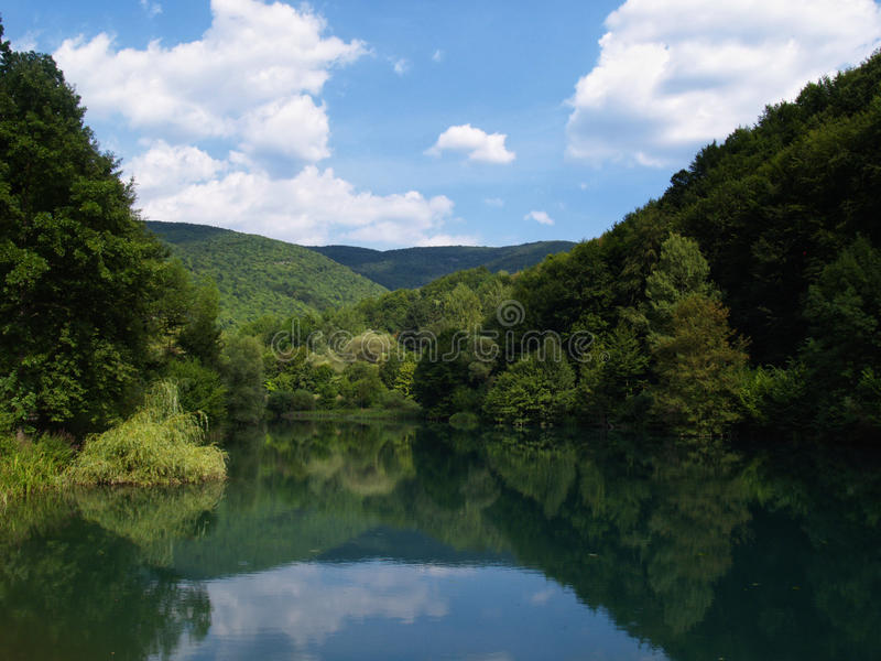 grza湖 免版税图库摄影