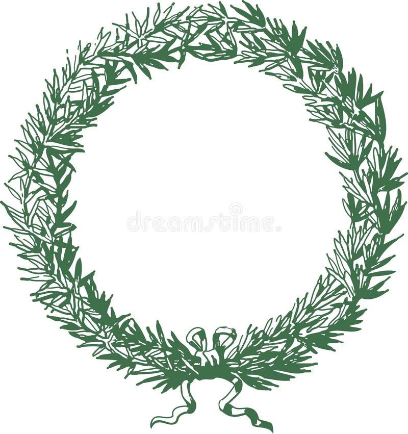 grzebień zieleń ilustracji