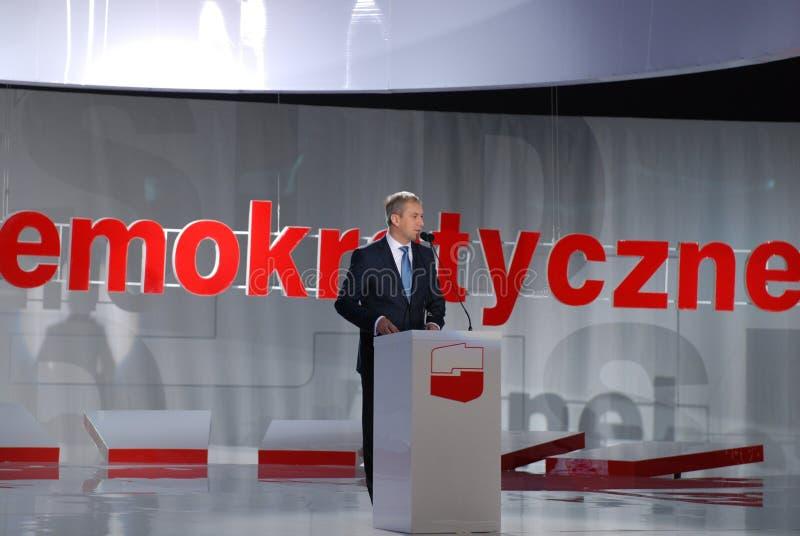 Download Grzegorz Napieralski, Chairman SLD Editorial Stock Image - Image: 16434664