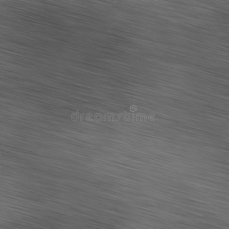 Grzywna szczotkująca okrzesana aluminiowa stal nierdzewna fotografia stock