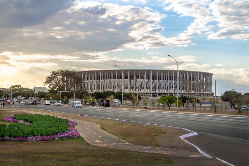 Grzywy Garrincha stadium - Brasilia, Distrito Federacyjny, Brazylia zdjęcia royalty free