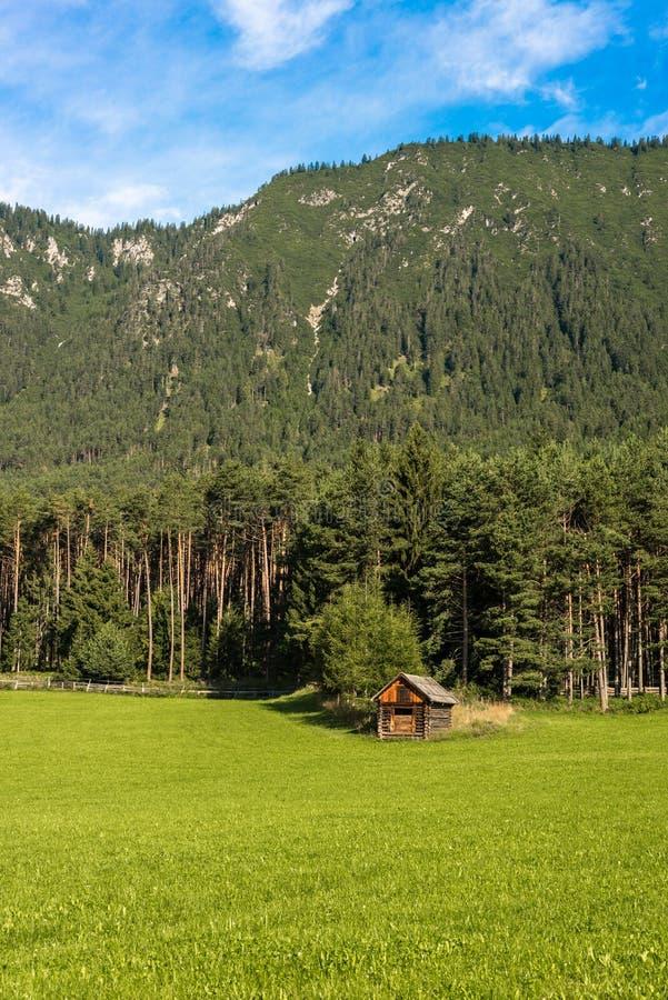 Gschwent em Sonnenplateau, Áustria fotografia de stock