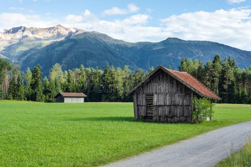 Gschwent em Sonnenplateau, Áustria imagem de stock royalty free