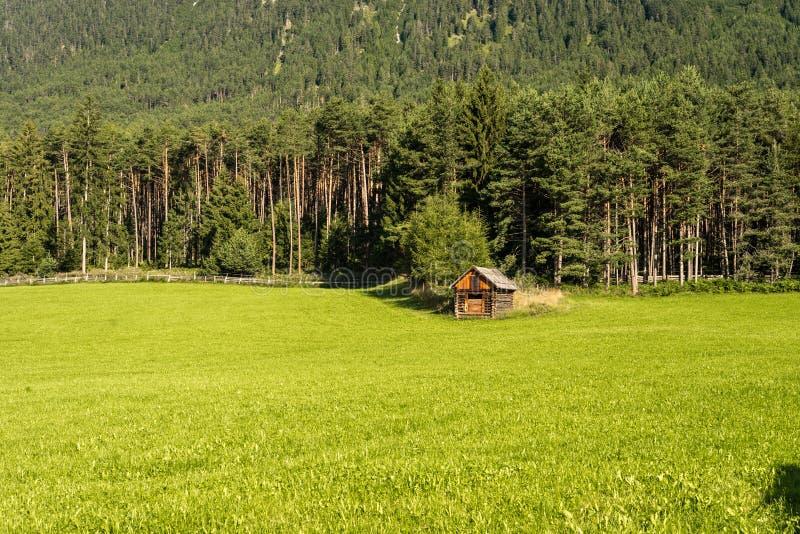 Gschwent em Sonnenplateau, Áustria imagem de stock