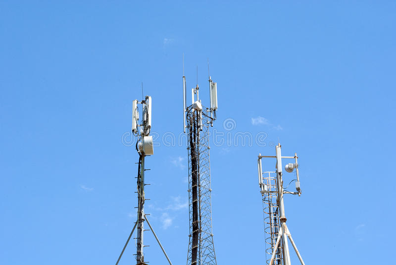 Download GSM Antenna stock photo. Image of contact, receiver, aerial - 14807342