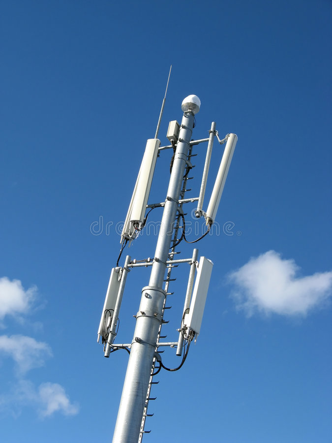 Download GSM Antenna stock photo. Image of industry, contact, cellular - 7900788