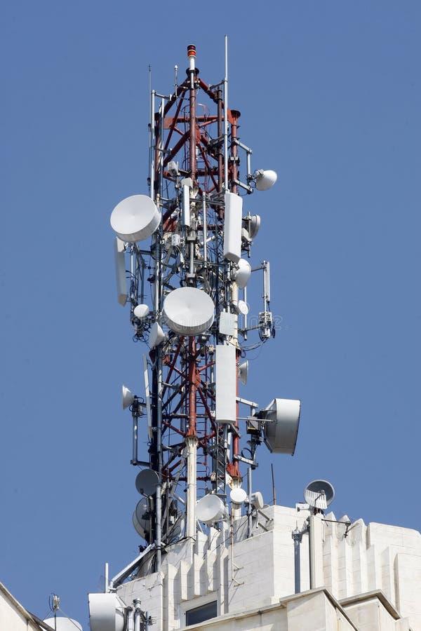 Gsm antennezender royalty-vrije stock afbeeldingen