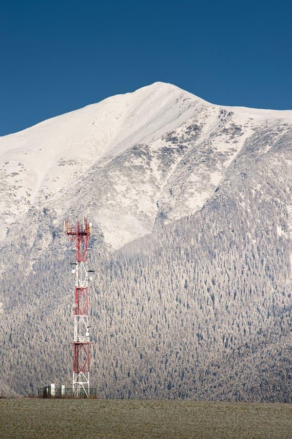 gsm góry górują vertical obraz royalty free