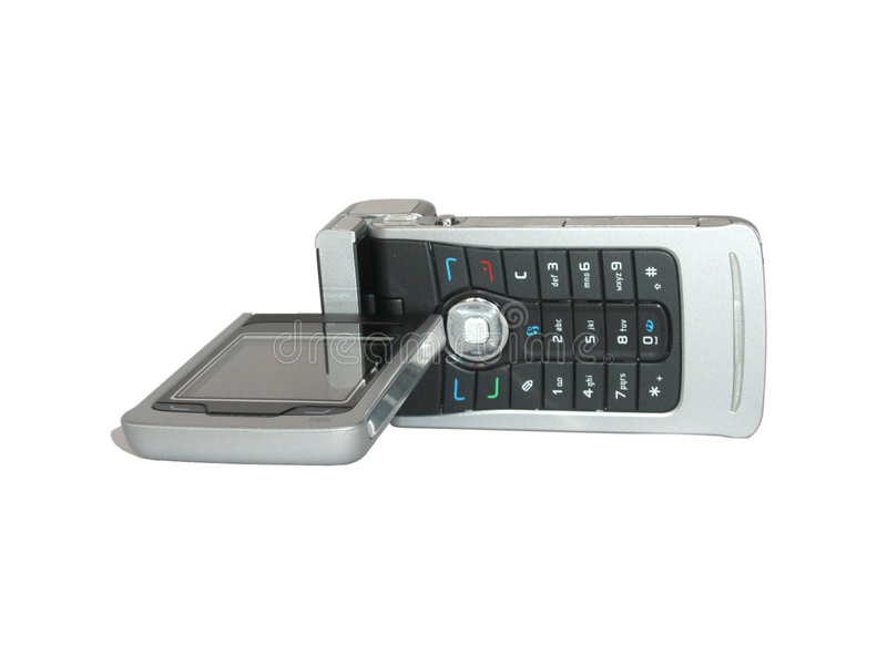 GSM Mobile Phone With Cam Stock Photo