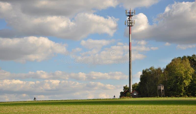 GSM zender stock foto
