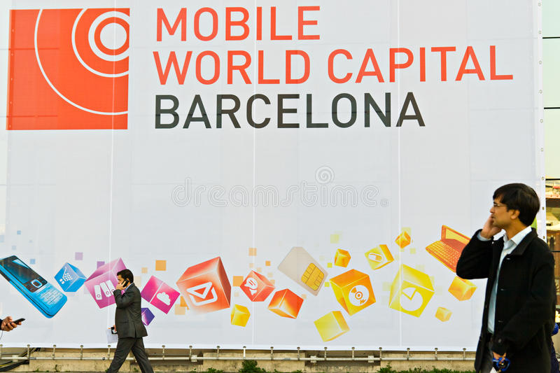 Download GSMA Mobile World Congress editorial photo. Image of world - 23560276