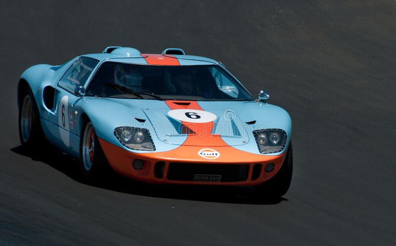 GT40 - Ford Racing Car fotografia de stock royalty free