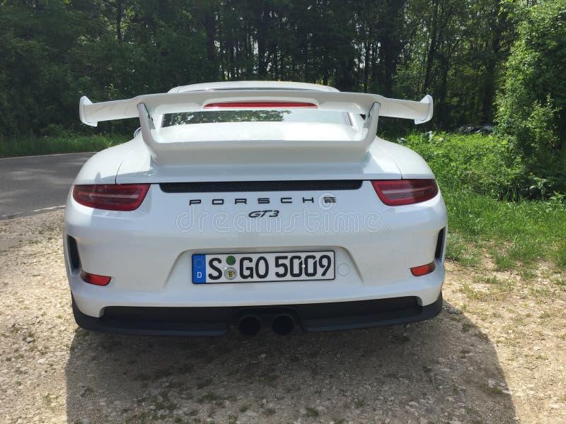 gt3 Porsche fotografia stock
