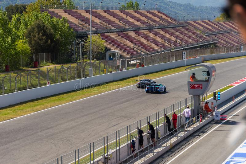 GT Sports Club in Circuit de Barcelona, Catalonia, Spain.  stock photography
