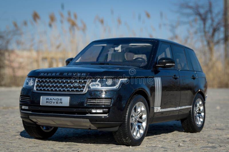 1:18 GtAutos di Range Rover modelcar immagine stock libera da diritti