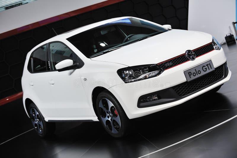 Gti blanc de polo de VW photos libres de droits