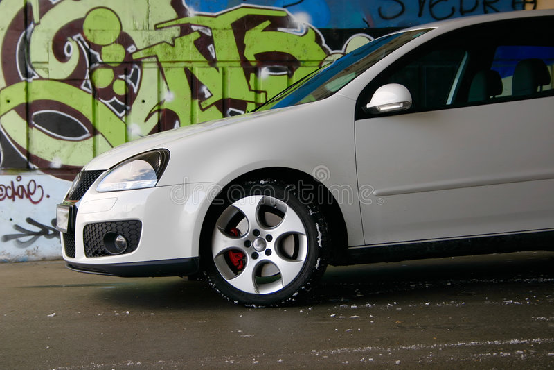 Gti Volkswagen гольфа Стоковая Фотография