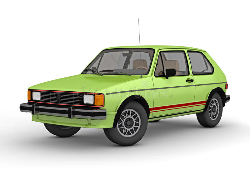 gtikanin 1984 volkswagen royaltyfri fotografi