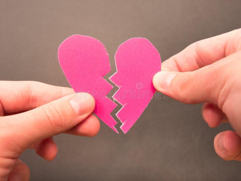 Guérison d'un coeur brisé photo libre de droits
