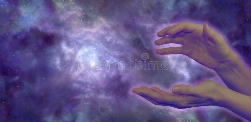 Guérisseur cosmique image stock