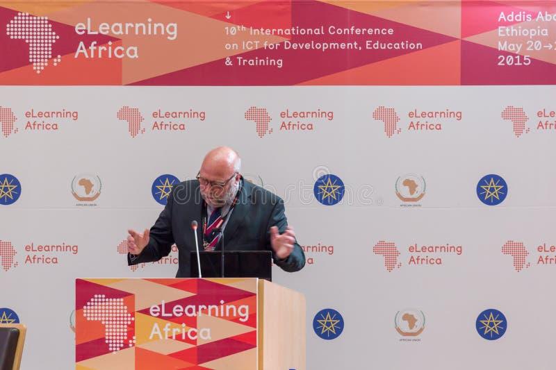 Günter Nooke, persönlicher Vertreter für Afrika zum Deutschen lizenzfreie stockfotografie