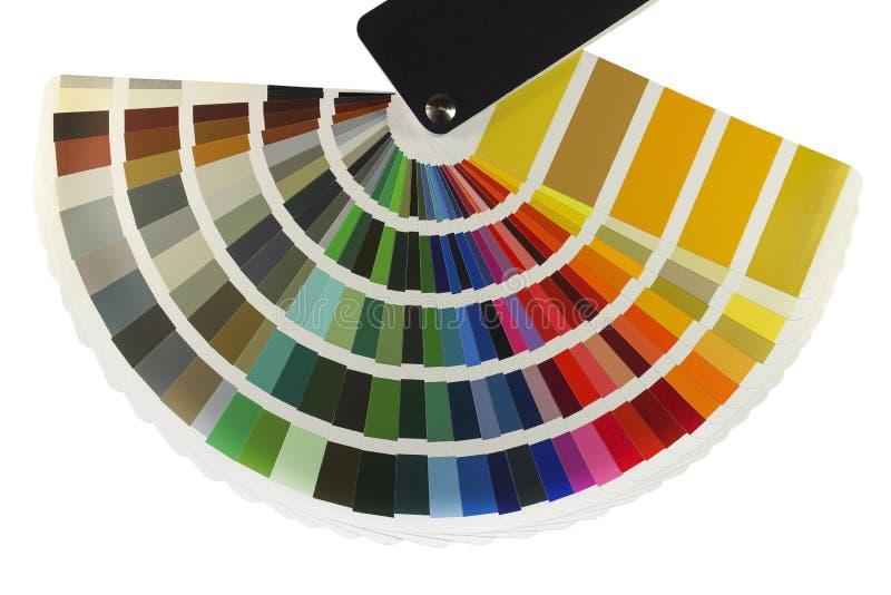 Guía del color imagenes de archivo