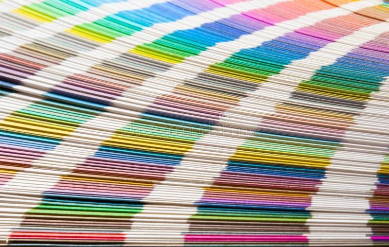 Guía del color foto de archivo