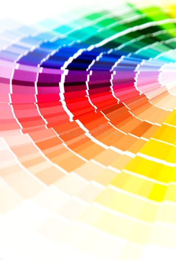 Guía del color fotos de archivo
