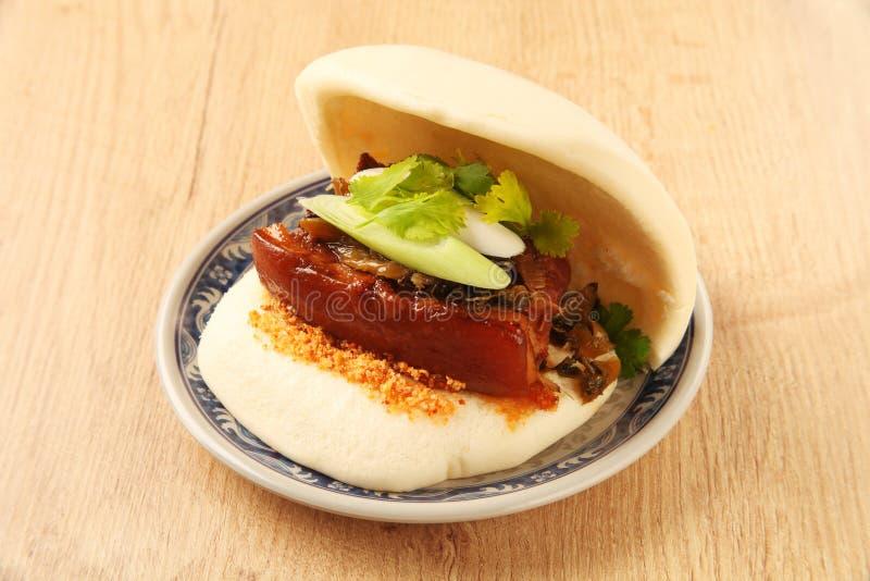 Gua Bao (sandwich Cuit à La Vapeur) Image stock - Image: 51783229