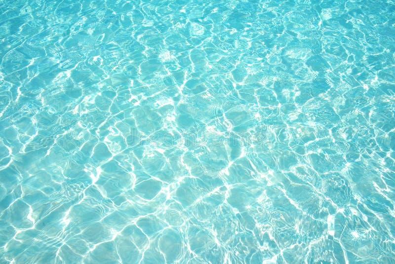 ?gua do mar azul Rippled fotos de stock