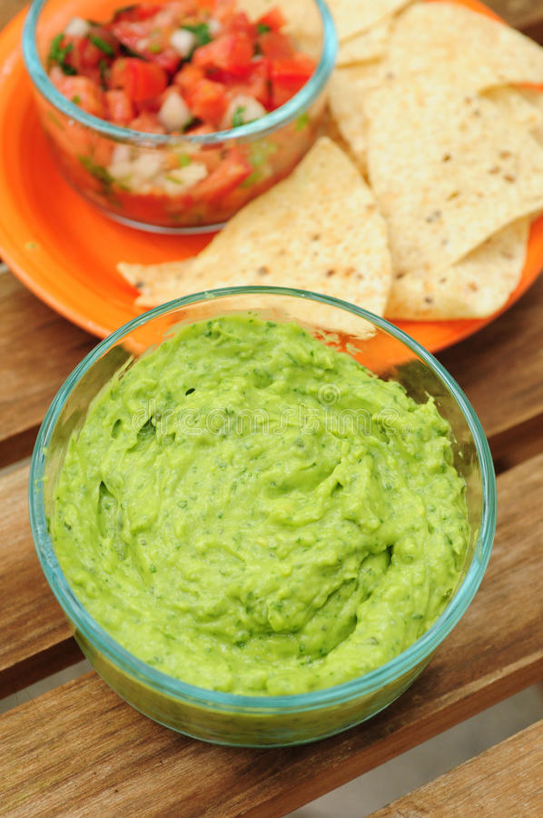 Guacamole images stock