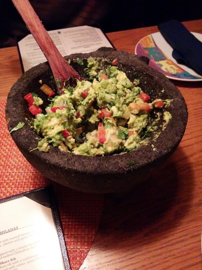 guacamole stock afbeelding