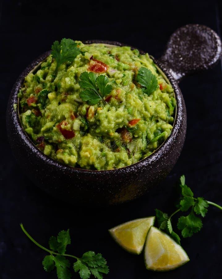 guacamole royalty-vrije stock afbeelding