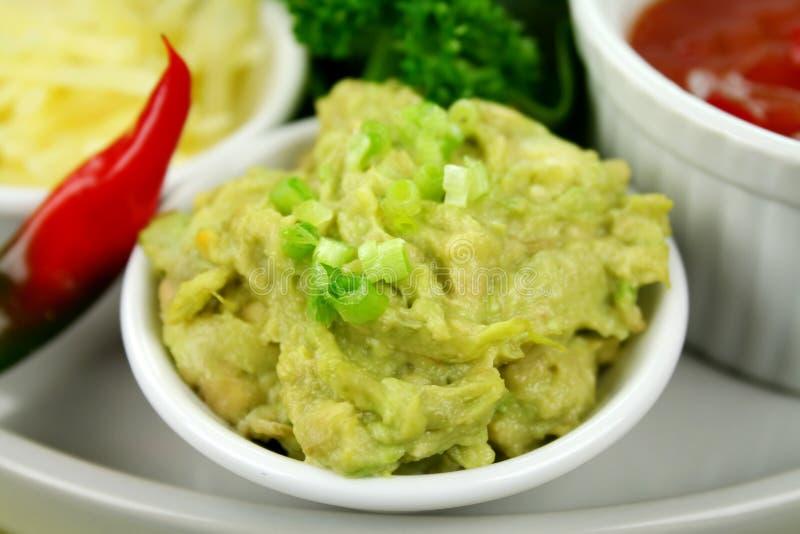 guacamole dip стоковая фотография