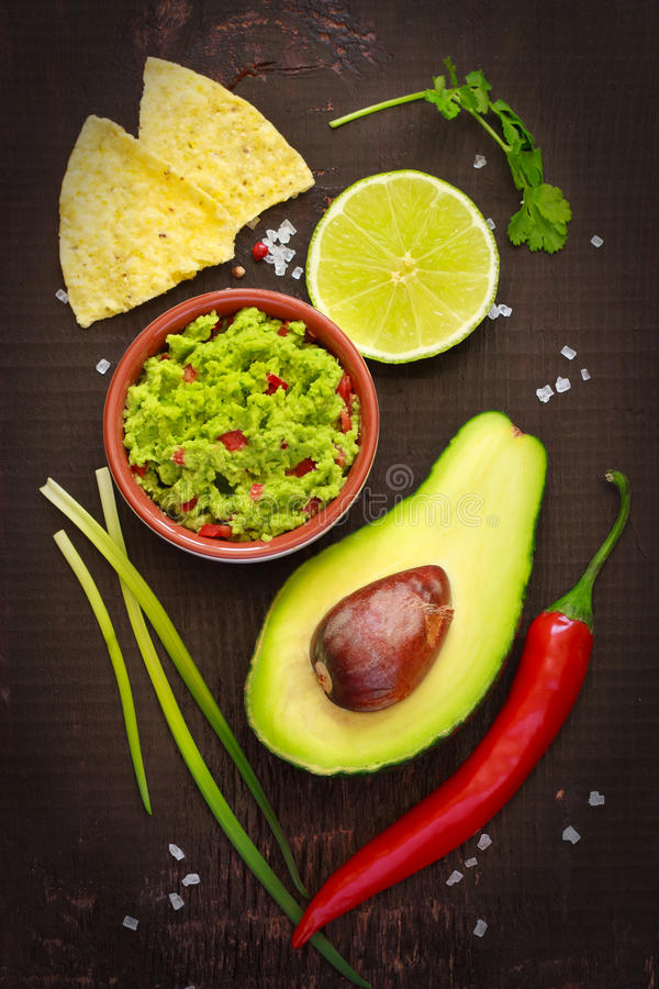 Guacamole. stock image
