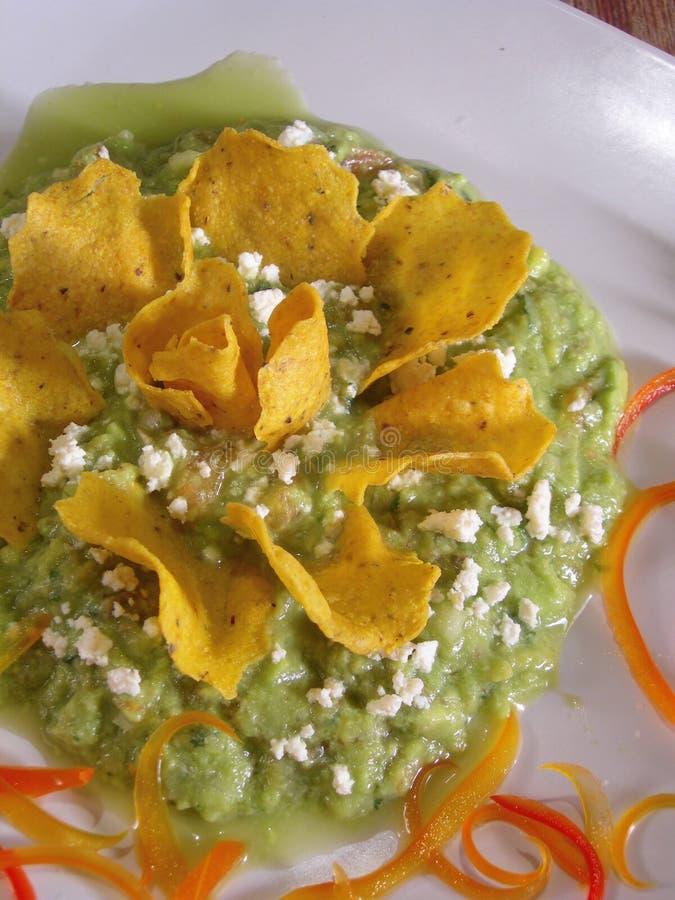 Guacamole mexicano imagenes de archivo
