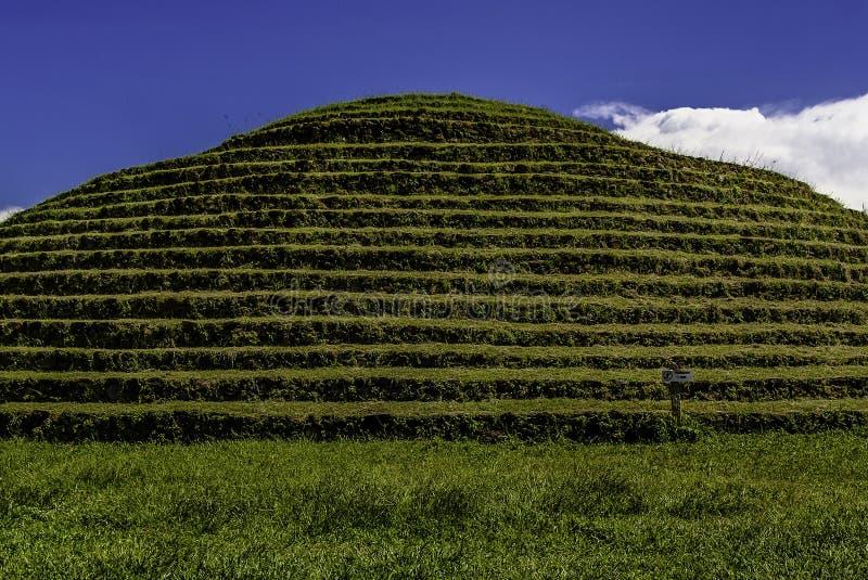 Guachimontones. The ruins of Guachimontones in Jalisco, Mexico royalty free stock photo