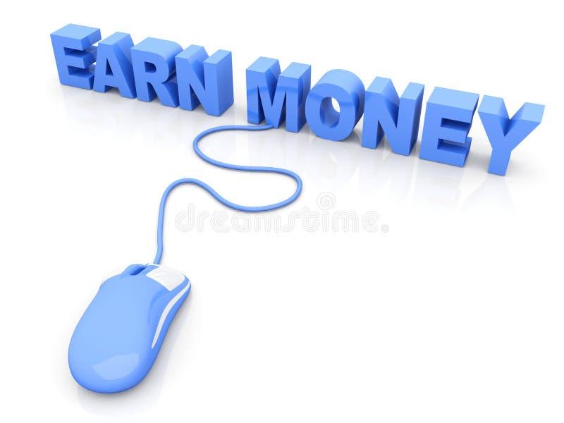 Guadagni i soldi royalty illustrazione gratis