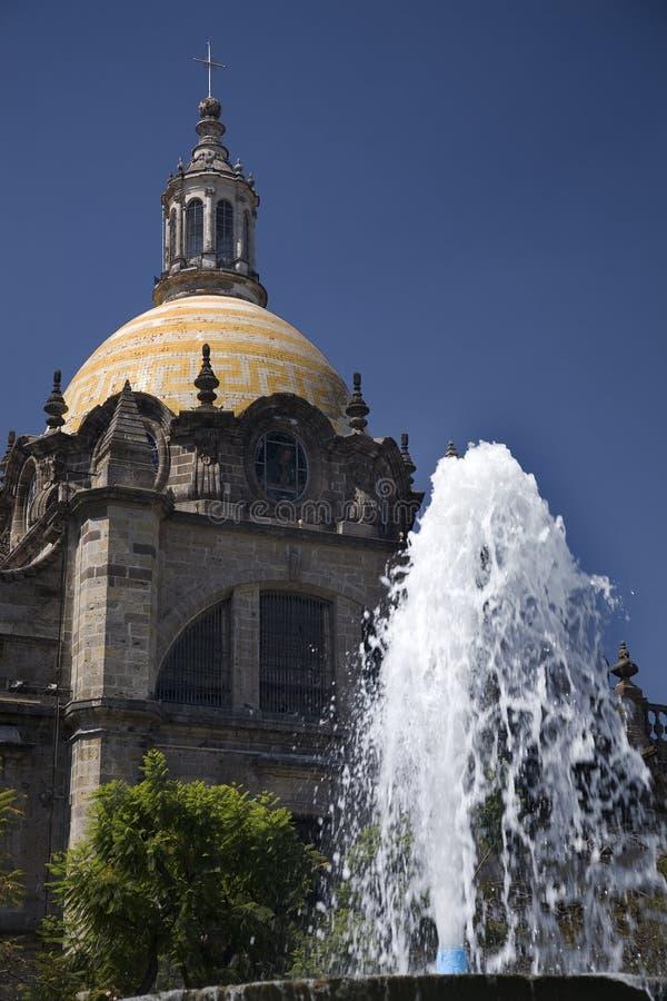 Guadalajara/catedral metropolitana México foto de stock royalty free