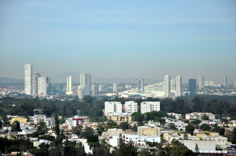Guadalajara horisont arkivfoton