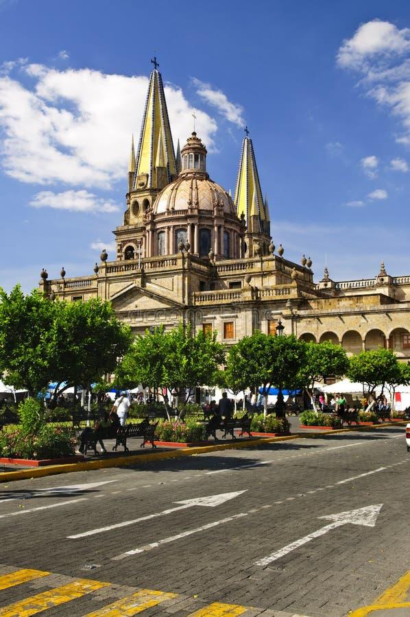 Guadalajara-Kathedrale in Jalisco, Mexiko lizenzfreies stockfoto